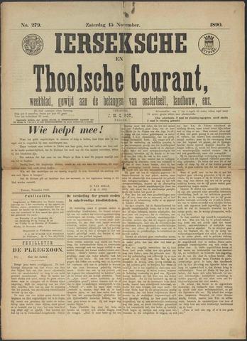 Ierseksche en Thoolsche Courant 1890-11-15