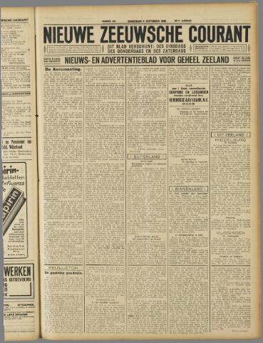 Nieuwe Zeeuwsche Courant 1930-09-04
