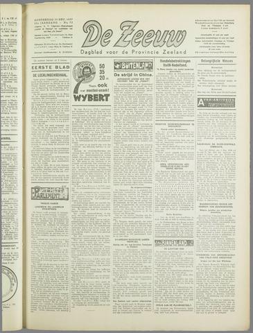 De Zeeuw. Christelijk-historisch nieuwsblad voor Zeeland 1937-12-23