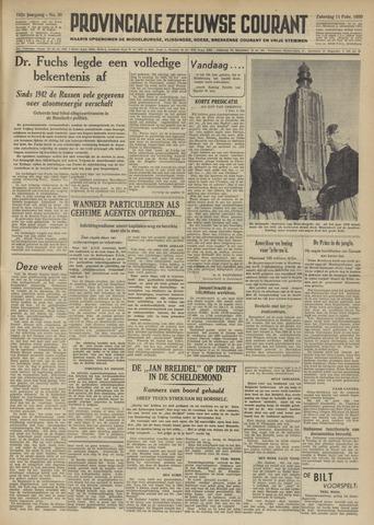Provinciale Zeeuwse Courant 1950-02-11