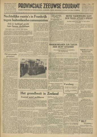 Provinciale Zeeuwse Courant 1950-09-08
