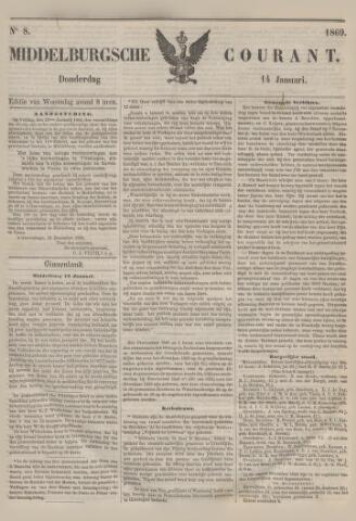 Middelburgsche Courant 1869-01-14