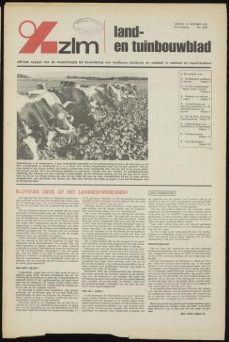 Zeeuwsch landbouwblad ... ZLM land- en tuinbouwblad 1973-10-19