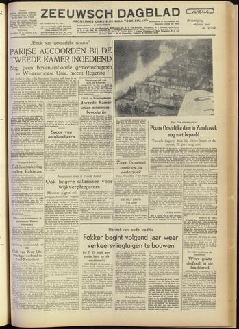 Zeeuwsch Dagblad 1954-12-15