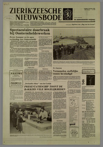 Zierikzeesche Nieuwsbode 1981-10-09