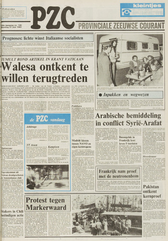 Provinciale Zeeuwse Courant 1983-06-27