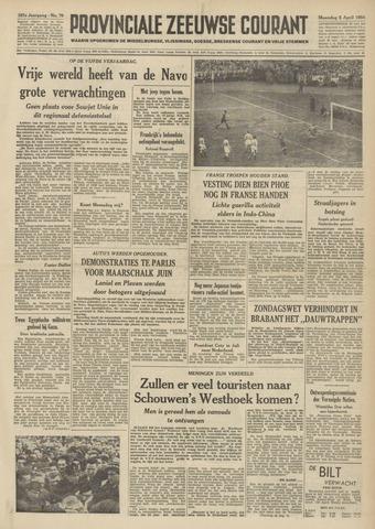Provinciale Zeeuwse Courant 1954-04-05