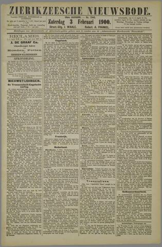 Zierikzeesche Nieuwsbode 1900-02-03