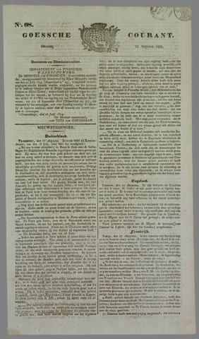 Goessche Courant 1834-08-25