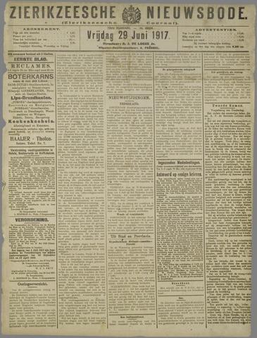 Zierikzeesche Nieuwsbode 1917-06-29