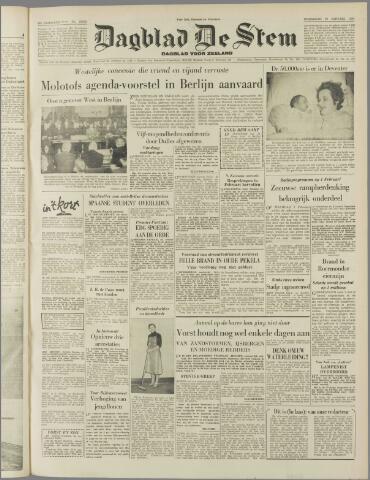 de Stem 1954-01-27