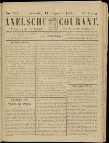 Axelsche Courant 1889-08-17