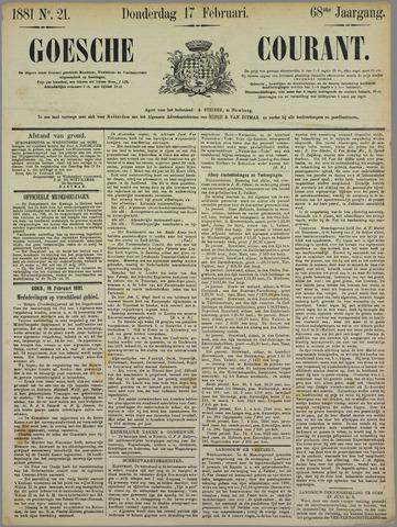 Goessche Courant 1881-02-17