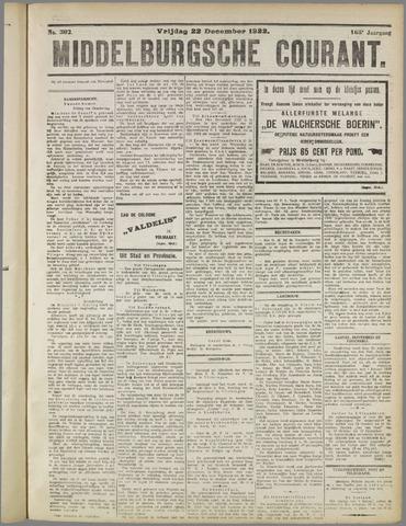 Middelburgsche Courant 1922-12-22