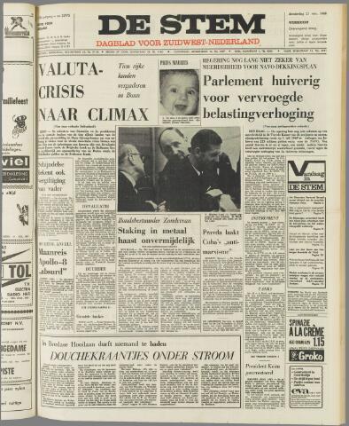 de Stem 1968-11-21