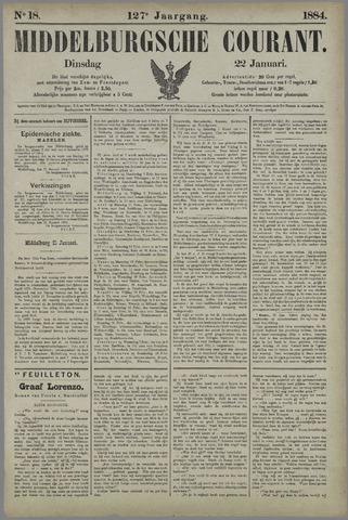 Middelburgsche Courant 1884-01-22