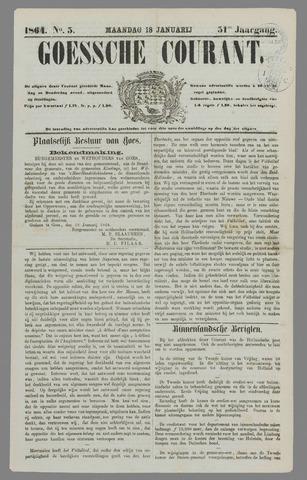 Goessche Courant 1864-01-18