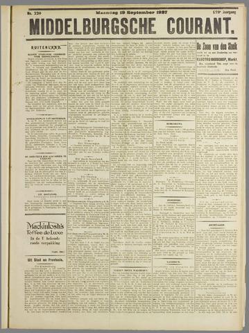 Middelburgsche Courant 1927-09-19