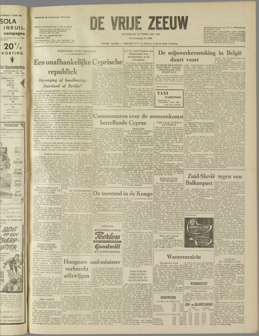 de Vrije Zeeuw 1959-02-21