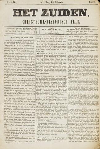 Het Zuiden, Christelijk-historisch blad 1880-03-20