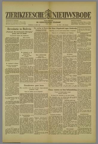 Zierikzeesche Nieuwsbode 1952-04-16