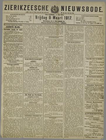 Zierikzeesche Nieuwsbode 1917-03-09