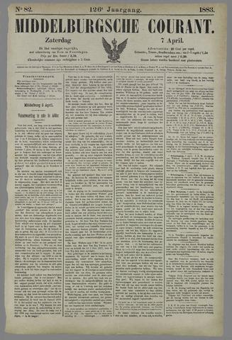 Middelburgsche Courant 1883-04-07
