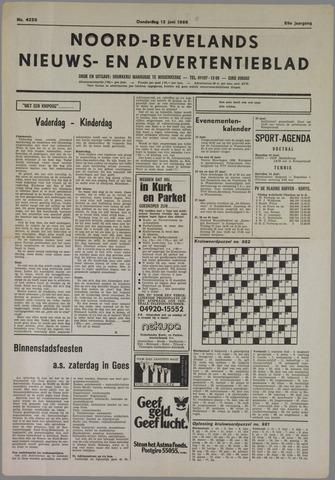 Noord-Bevelands Nieuws- en advertentieblad 1986-06-12