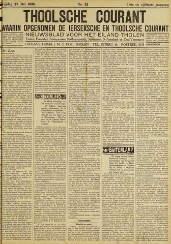 Ierseksche en Thoolsche Courant 1936-05-22