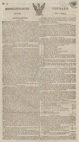 Middelburgsche Courant 1827-01-11