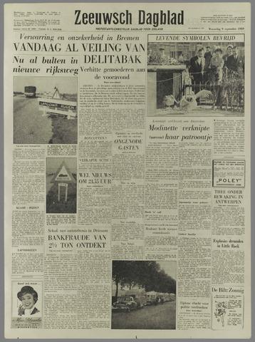 Zeeuwsch Dagblad 1959-09-09