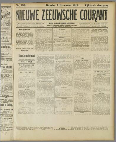 Nieuwe Zeeuwsche Courant 1919-12-02