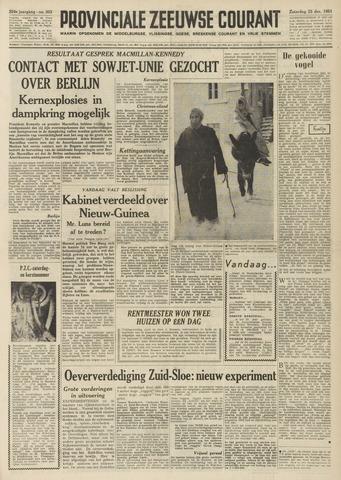 Provinciale Zeeuwse Courant 1961-12-23