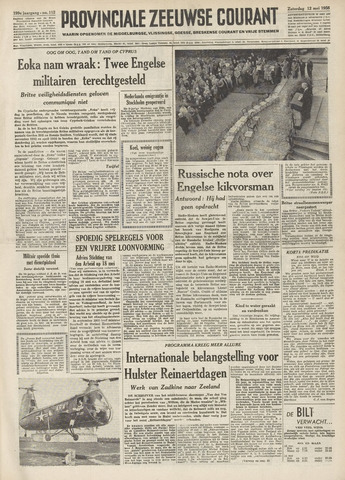 Provinciale Zeeuwse Courant 1956-05-12