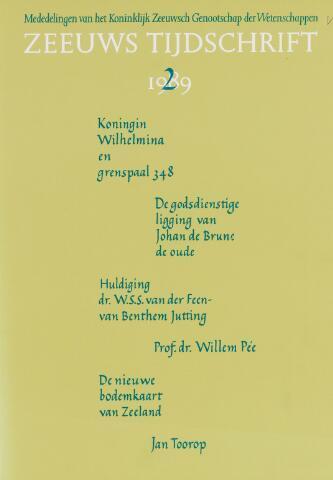 Zeeuws Tijdschrift 1989-03-01