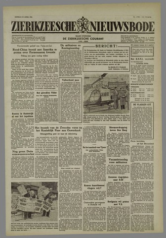 Zierikzeesche Nieuwsbode 1955-04-26