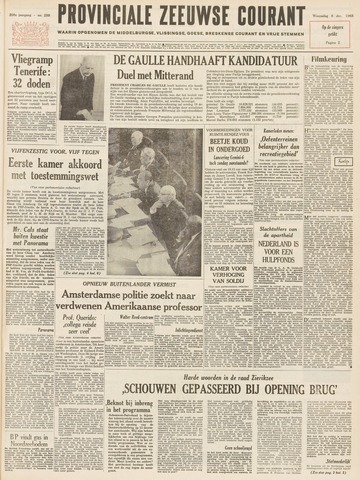 Provinciale Zeeuwse Courant 1965-12-08