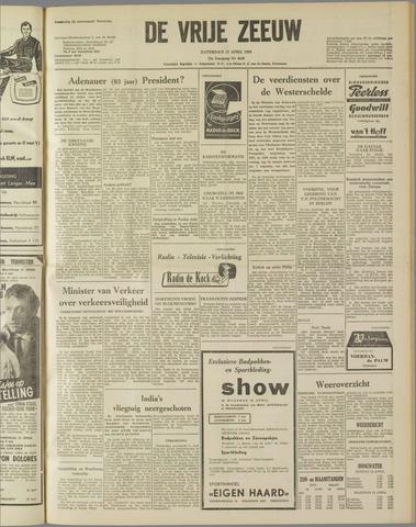 de Vrije Zeeuw 1959-04-11