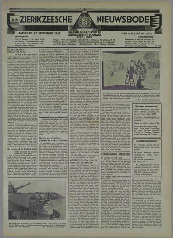 Zierikzeesche Nieuwsbode 1942-09-12