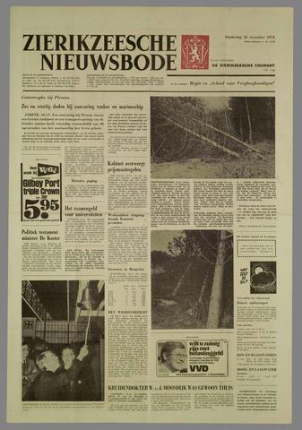 Zierikzeesche Nieuwsbode 1972-11-16