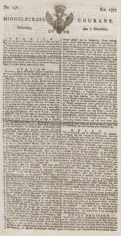 Middelburgsche Courant 1771-12-07