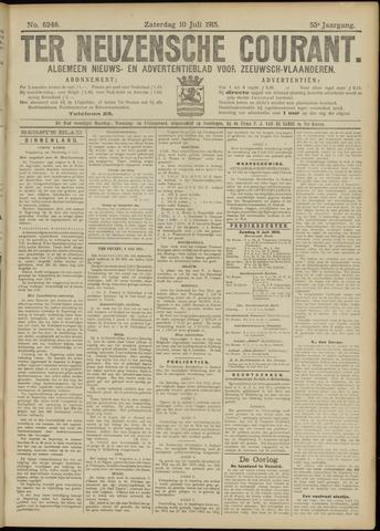 Ter Neuzensche Courant. Algemeen Nieuws- en Advertentieblad voor Zeeuwsch-Vlaanderen / Neuzensche Courant ... (idem) / (Algemeen) nieuws en advertentieblad voor Zeeuwsch-Vlaanderen 1915-07-10