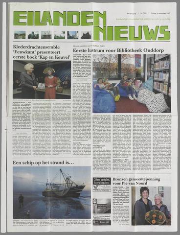 Eilanden-nieuws. Christelijk streekblad op gereformeerde grondslag 2007-11-16