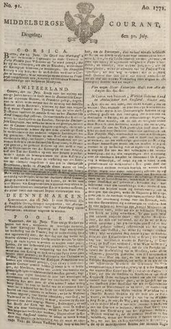 Middelburgsche Courant 1771-07-30