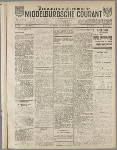 Middelburgsche Courant 1932-04-30