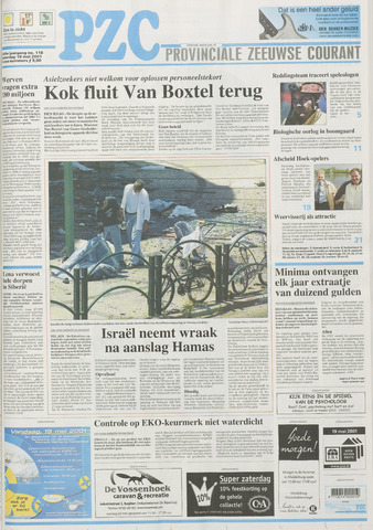 Provinciale Zeeuwse Courant 2001-05-19