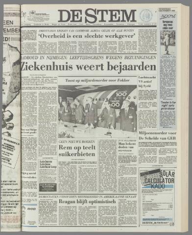 de Stem 1986-11-06