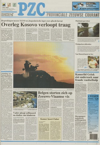 Provinciale Zeeuwse Courant 1999-06-07