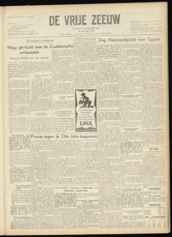 de Vrije Zeeuw 1956-11-13