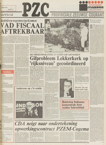 Provinciale Zeeuwse Courant 1980-04-25